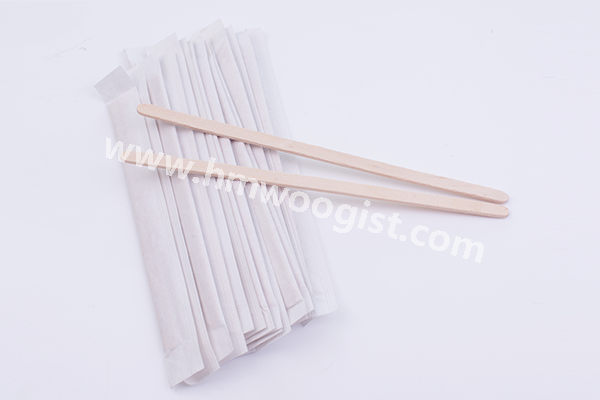 Paper Wrap Coffee Stirrers