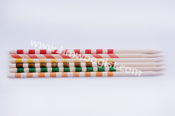 Ink Print Round Sticks